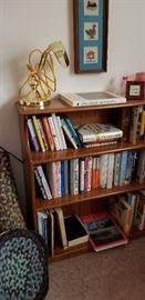 BOOK SHELF  --  COOKBOOKS  --BIRD BOOKS  --