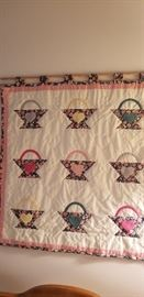 QUILTED WALL DECOR  --  HANDMADE