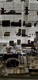Jewelry starting to be displayed