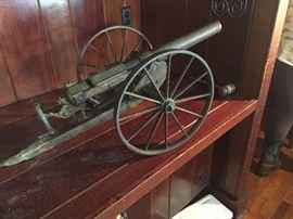 Spanish American era breech loading signal cannon--authentic