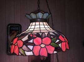 Tiffany style early lighting