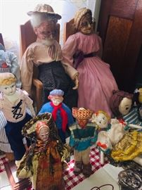 more character and boy dolls