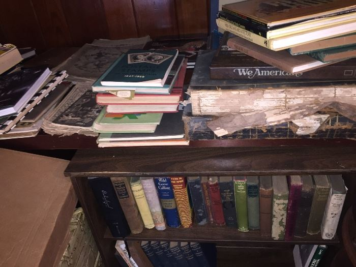 oh my oh my--early books and paper ephemera!--still discovering