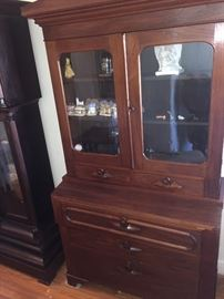early china cabinet--I love it because its so simple and smaller.