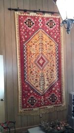 Moroccan hanging rug