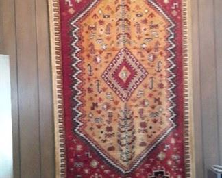 Moroccan hanging rug