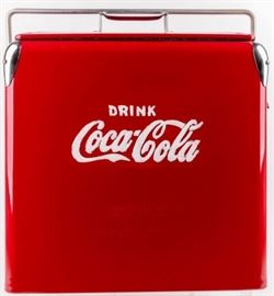 Lot 212 - Vintage Coca Cola Cooler Restored