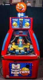 Lot 1 - Basket Fortune Basketball Coin-op Arcade Game