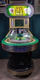 Lot 400 - Huge Super 21 Coin-Op Arcade Game