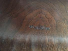 "Wurlitzer Baby Grand 5' deep x 54"" wide"