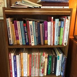 Example of cookbooks, about twice this many total