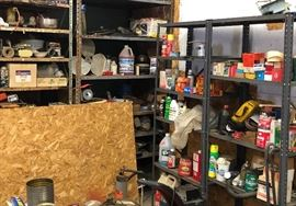 Example of garage items