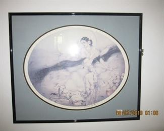 Louis Icart signed print