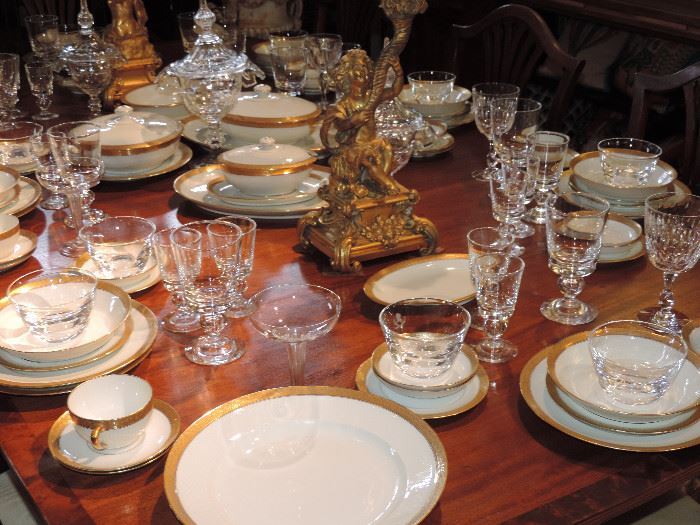 Steuben Stemware - Limoges Dishes, Period Furnishings and MORE!