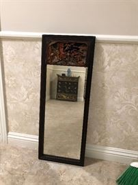 ANTIQUE ORIENTALIA MIRROR