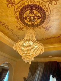 Gorgeous Swarovski Crystal Chandelier