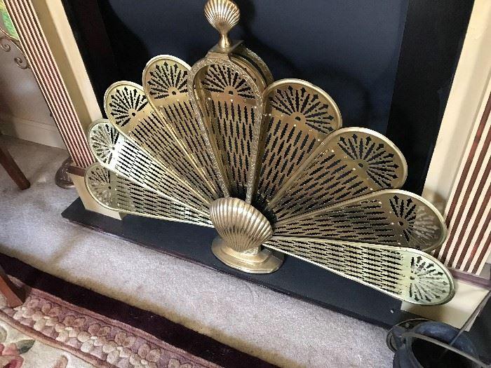 Metal Fireplace Fan $ 58.00
