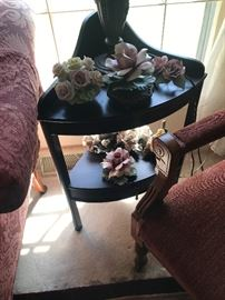 Curved End Table $ 48.00