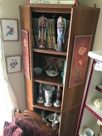 Open Corner Display Cabinet $ 158.00