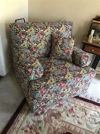 Flowered Upholstered Chair $ 68.00