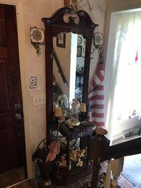 Mirrored Hall Tree $ 178.00
