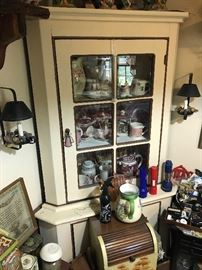 Vintage Corner Cabinet $ 288.00