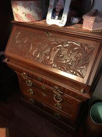 Antique writing desk / dresser $ 400.00