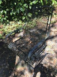 Metal Outdoor Chair $ 58.00