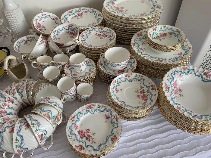 Large set of Minton china