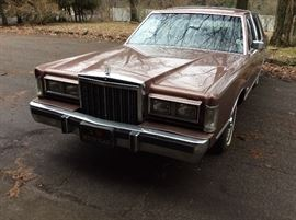 1985 Lincoln Town car - 45,500 actual miles  May be purchased by certified check or cash only