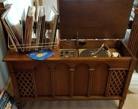 Ambassador Stereophonic Console Open