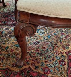 Dining Room Chair Leg Detail