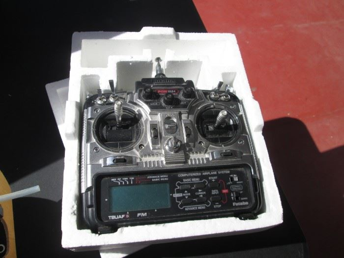 Full View of Radio Control System