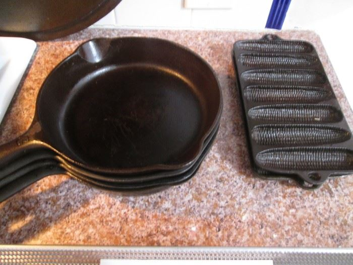 Terrific Cast Iron Collection!  Come early for the best choices!!!