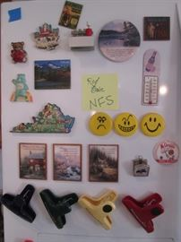 Variety of Magnets & Bag Clips