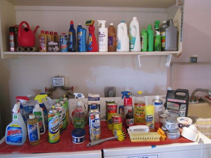 Cleaning Supplies & Chemicals