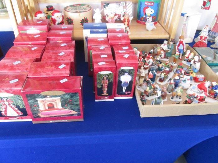 Ornaments Galore!  Many are Hallmark Keepsakes in Boxes.