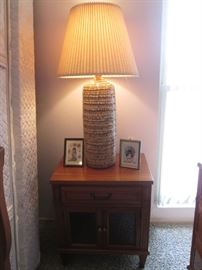 Pair of MCM Table Lamps