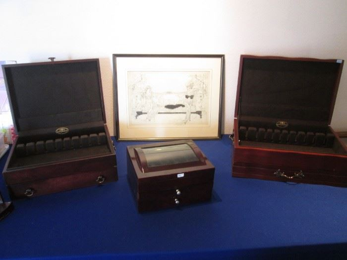 Silverware Chests