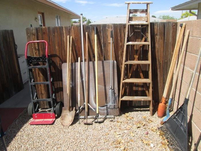 Dolly, Ladder and Yard Supplies
