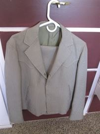 Mens Western-Cut Suit, Fort Worth, TX