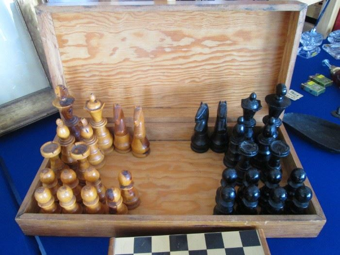 Chess Set with Box
