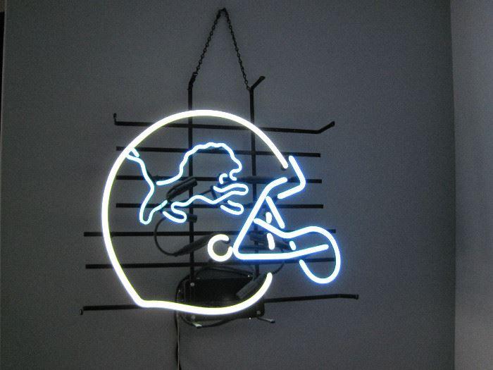 Detroit Lions Neon Light