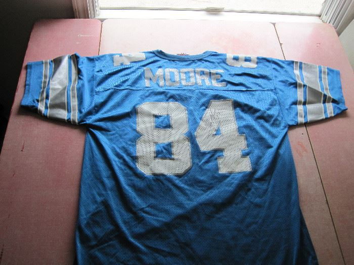 Herman Moore signed Jersey