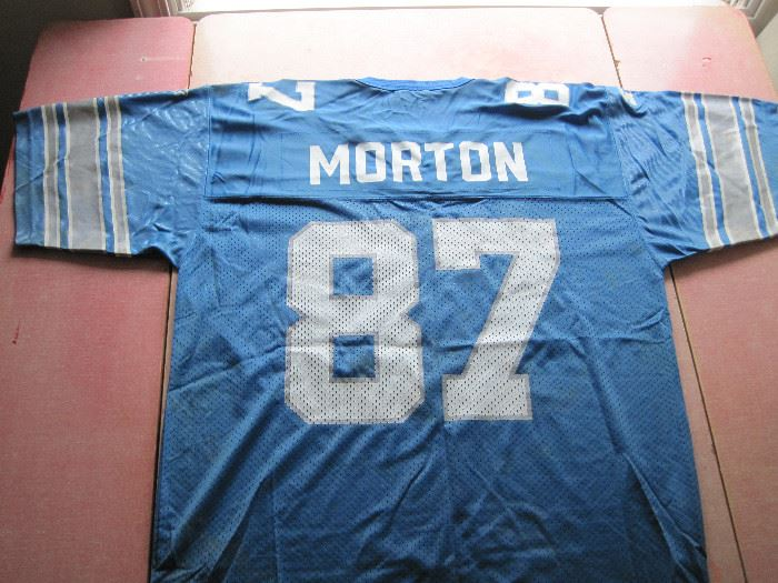 Johnnie Morton Signed Jersey