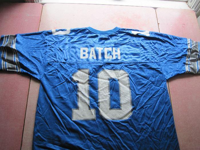 Charlie Batch Signed Jersey