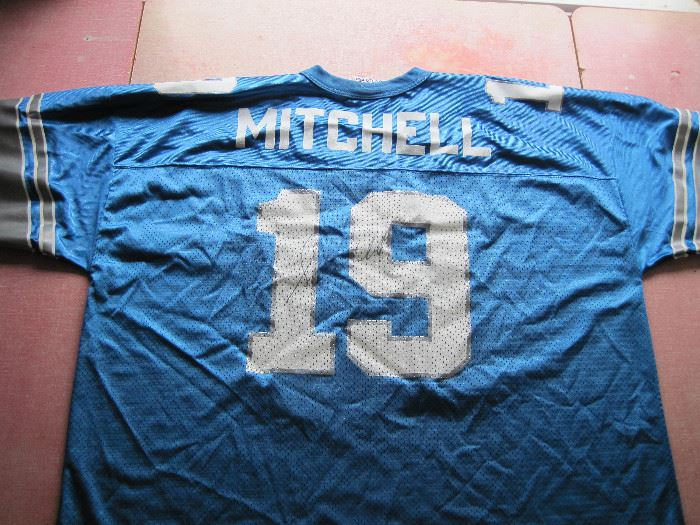 Scott Mitchell Signed Jersey