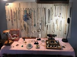 Jewelry - Vintage, Costume, Some Fine. Still emptying boxes!