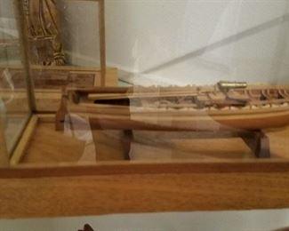 Mini handmade ship