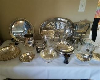 Silverplate items